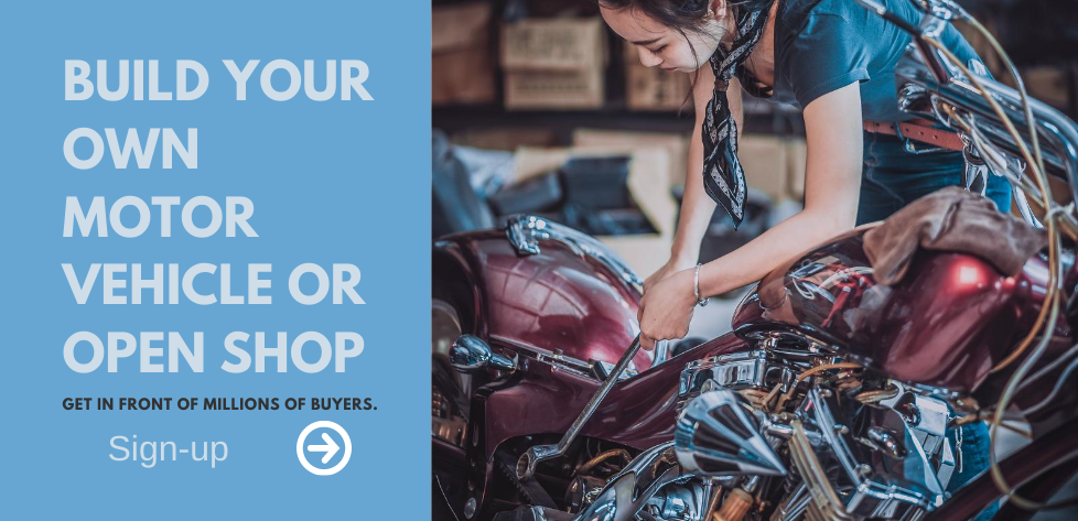 Open your shop or build a motor vehicle