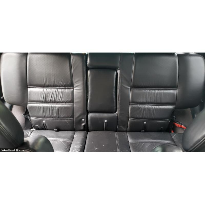 2004 Nissan Pathfinder Leather Seats