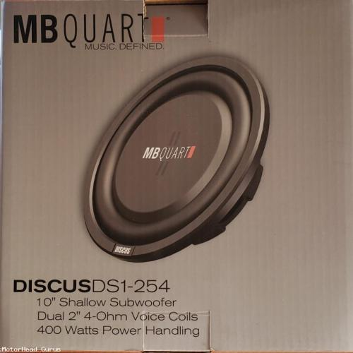 MB Quart 10 Shallow Sub woofer